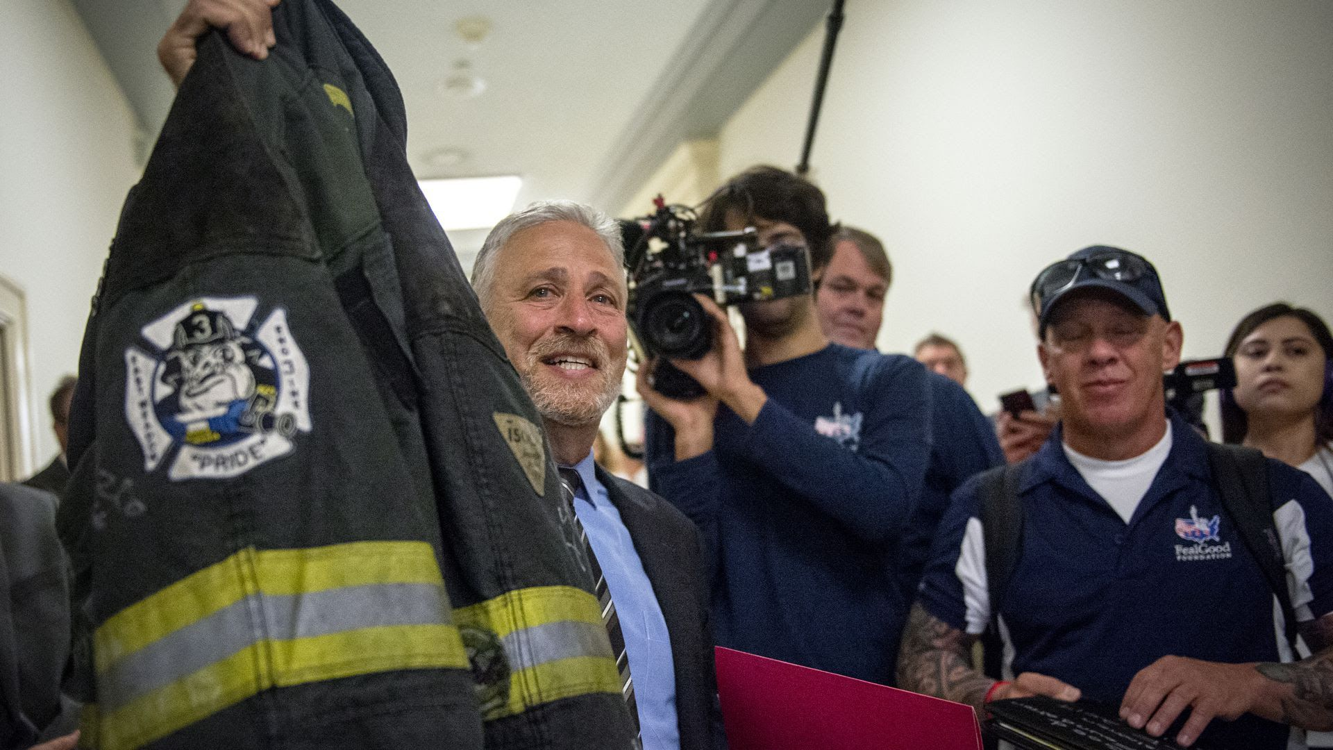 Jon Stewart's 9/11 victims crusade included lots of Fox News