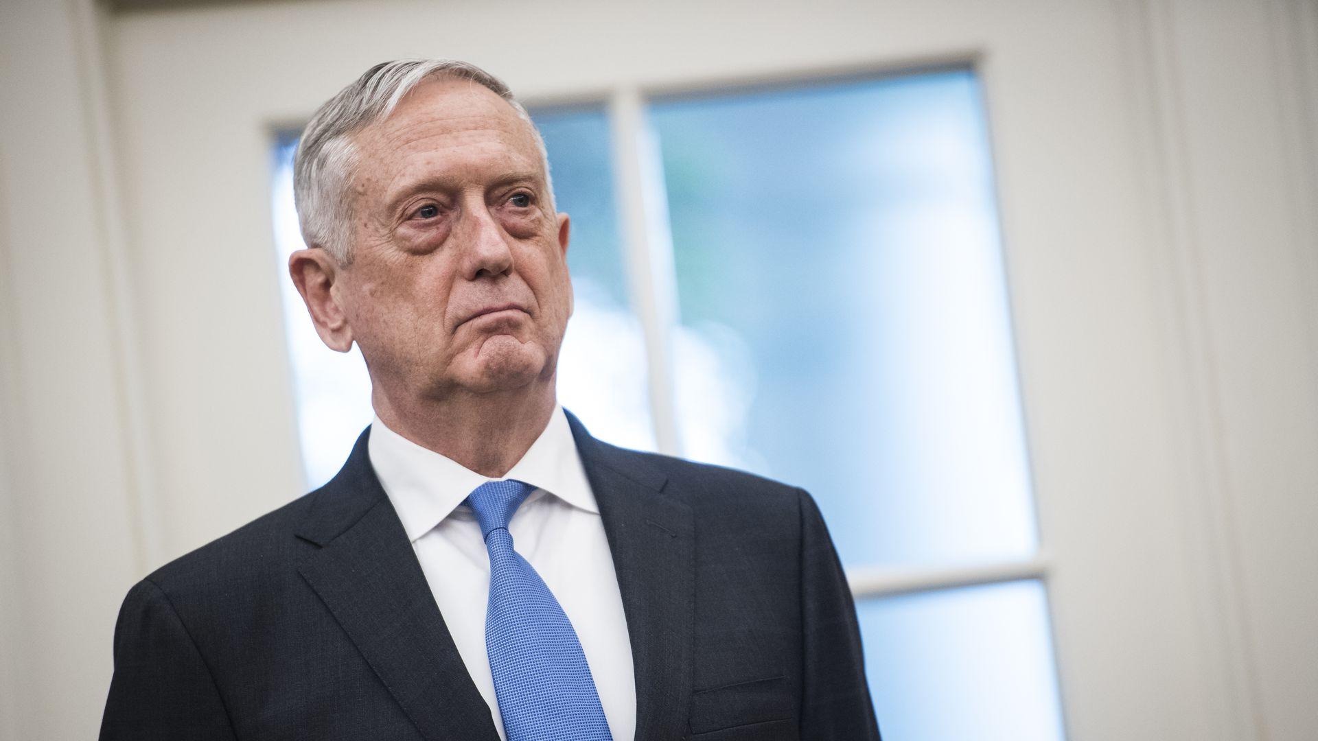 Secretary of Defense Jim Mattis. Photo: Jabin Botsford/The Washington Post via Getty Images
