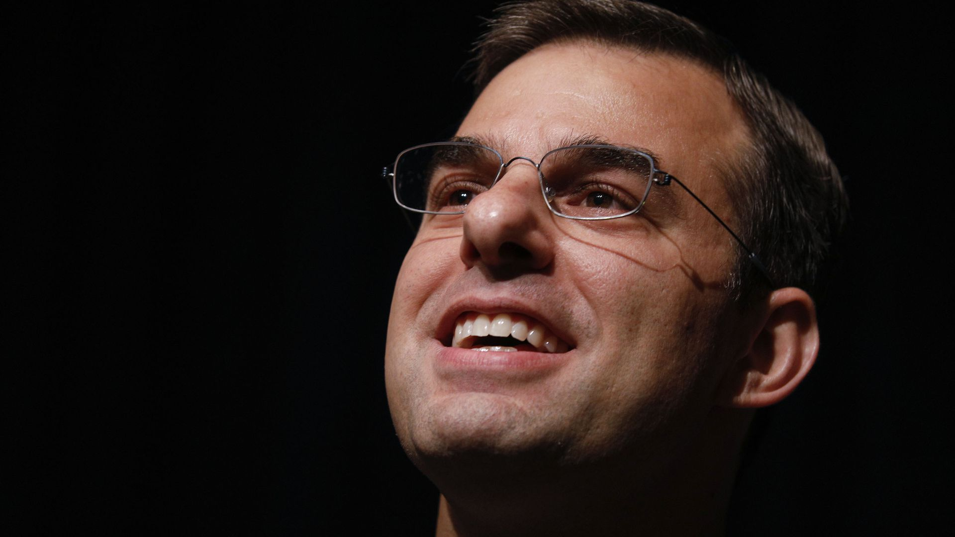 Justin Amash at a town hall meeting