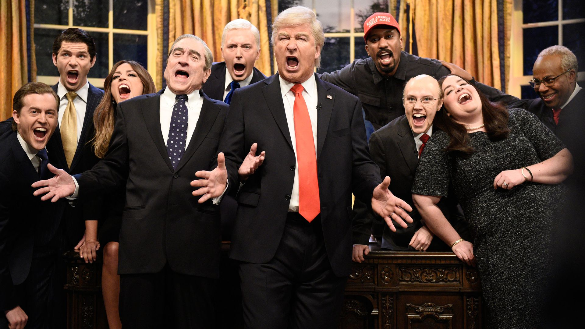 "The ""SNL"" season finale cold open."