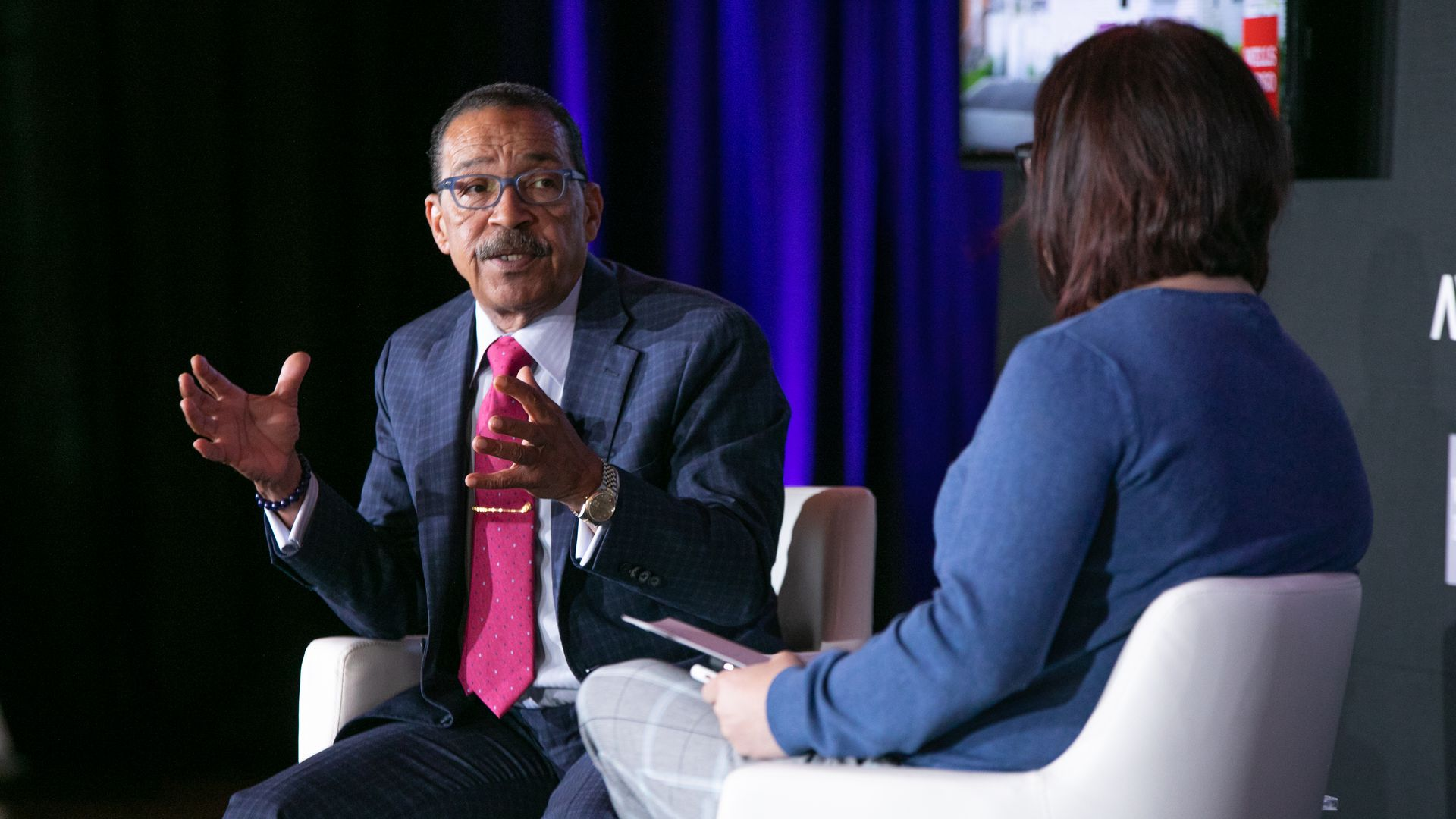 Mr. Herb J. Wesson, Jr. in conversation with Axios' Ina Fried.