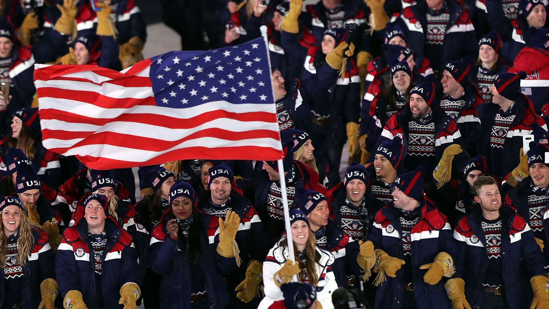 American Olympic team