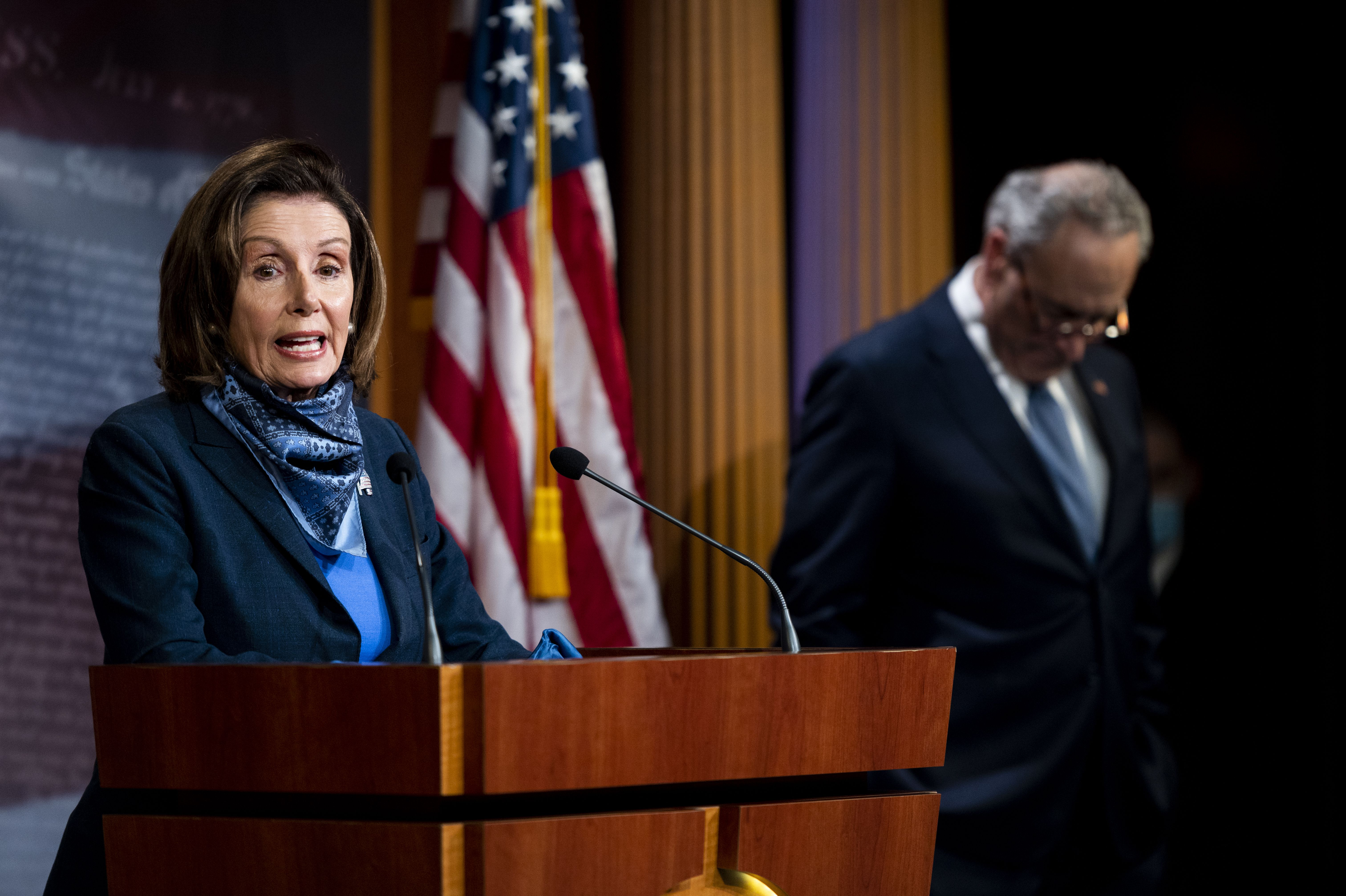 """Top Democrats accuse Trump of """"fanning of the flames of discord, bigotry and violence"""""""