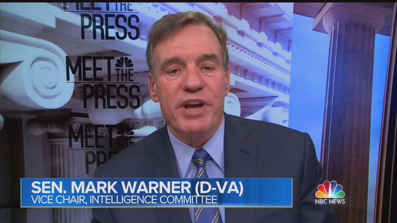 Sen. Mark Warner says Senate Intelligence Committee voted 14-1 to approve Russia report thumbnail