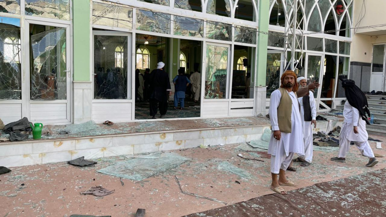 Deadly blast hits Shiite mosque in Afghanistan's Kandahar
