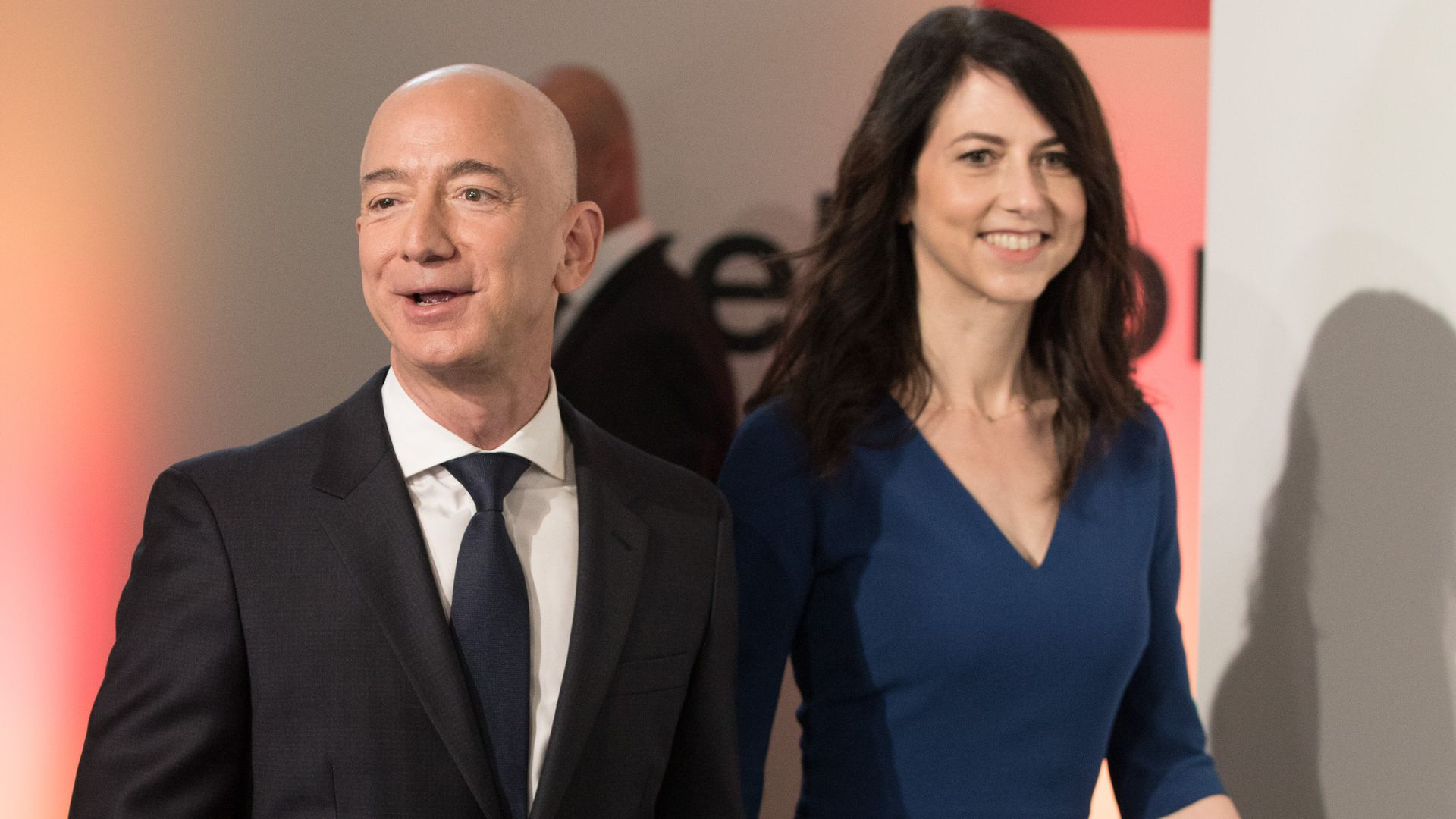 Jeff and MacKenzie Bezos