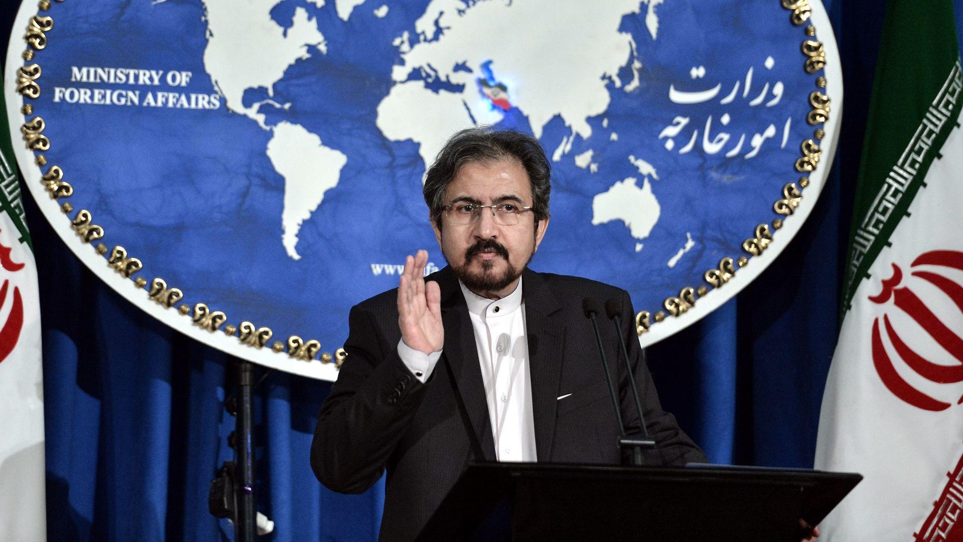 Iran Foreign Ministry spokesman