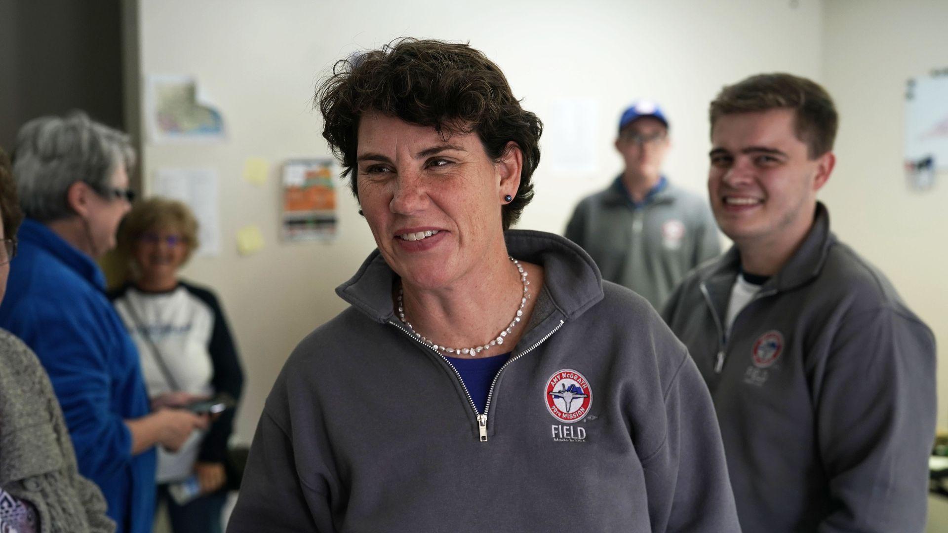 Kentucky Democrat Amy McGrath