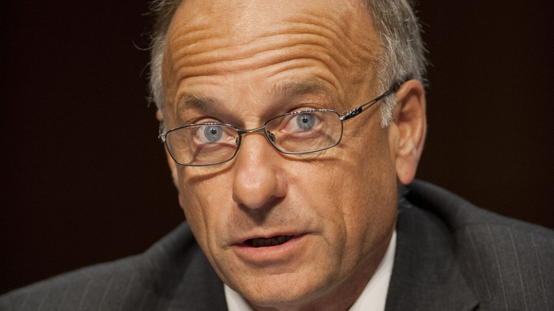 Steve King looking surprised.
