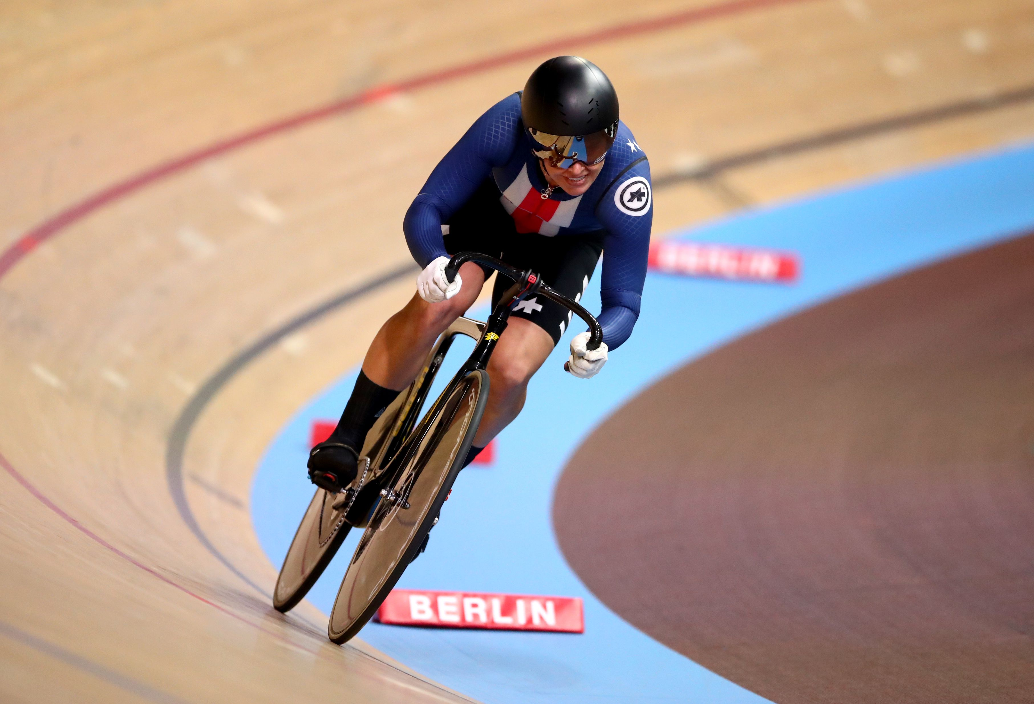 Maddie Godby competes in the sprint competition during the world championships in 2020. Photo: Tim Goode/PA Images via Getty Images