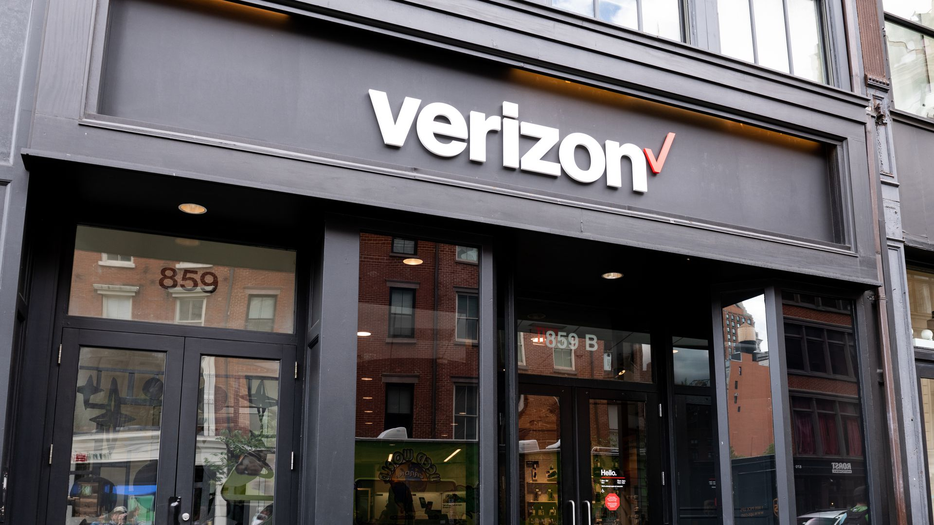 A Verizon store