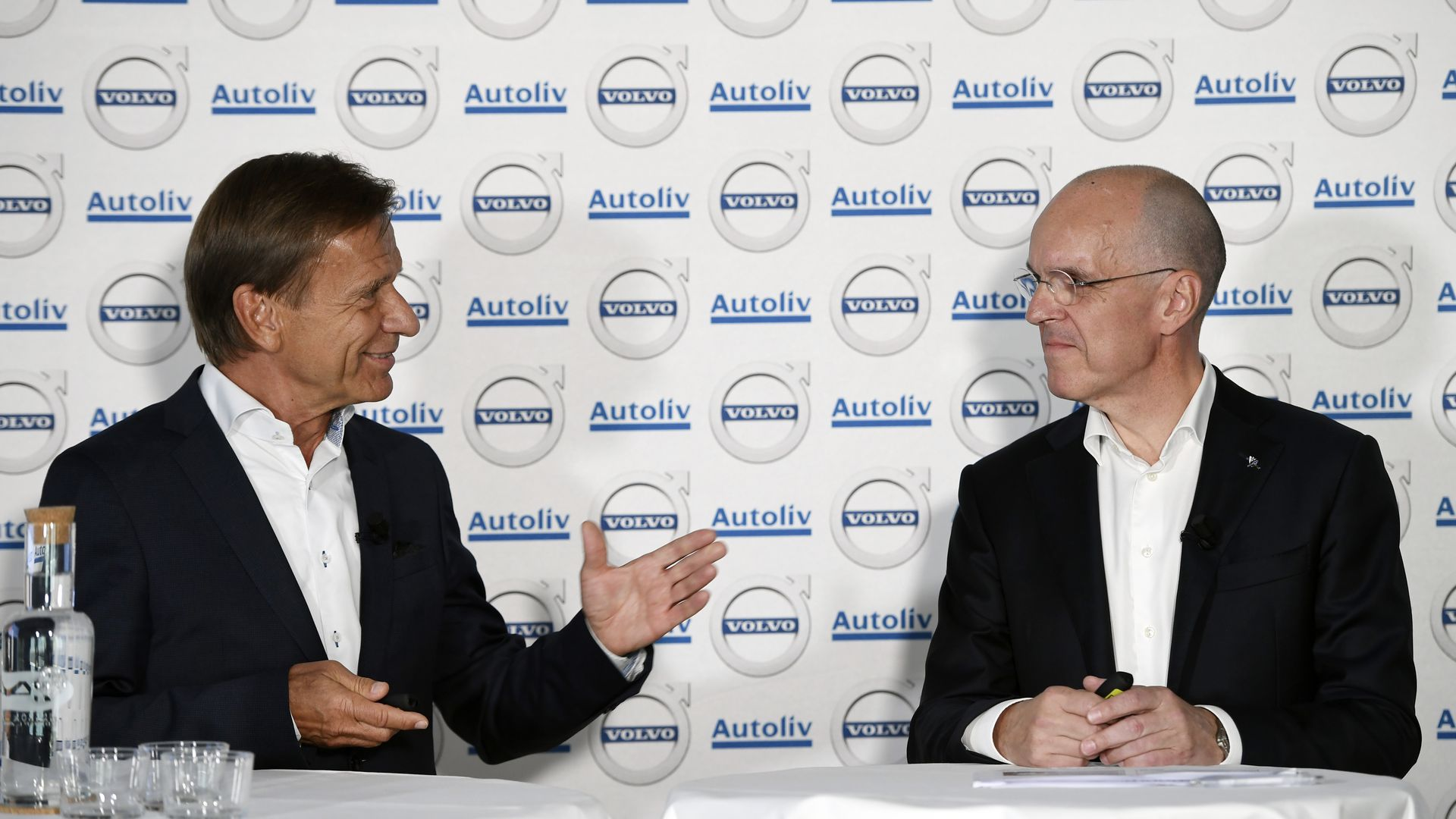 CEO of Volvo Cars Corporation AB and Jan Carlson CEO of Autoliv,