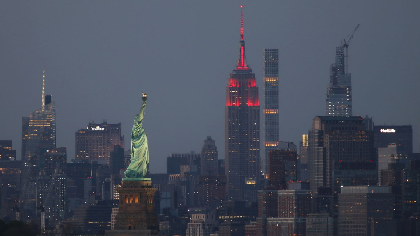 Empire State Building among hundreds to light up in Biden inauguration tribute