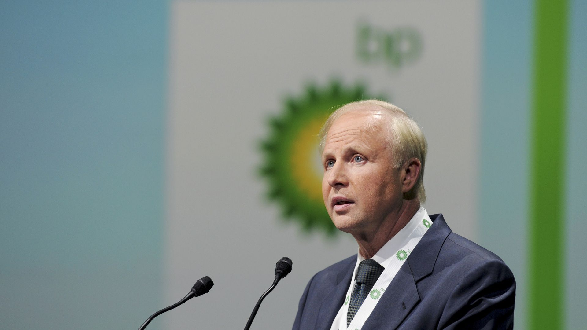 BP CEO Bob Dudley in 2015. Photo: Eric Piermont/AFP/Getty Images