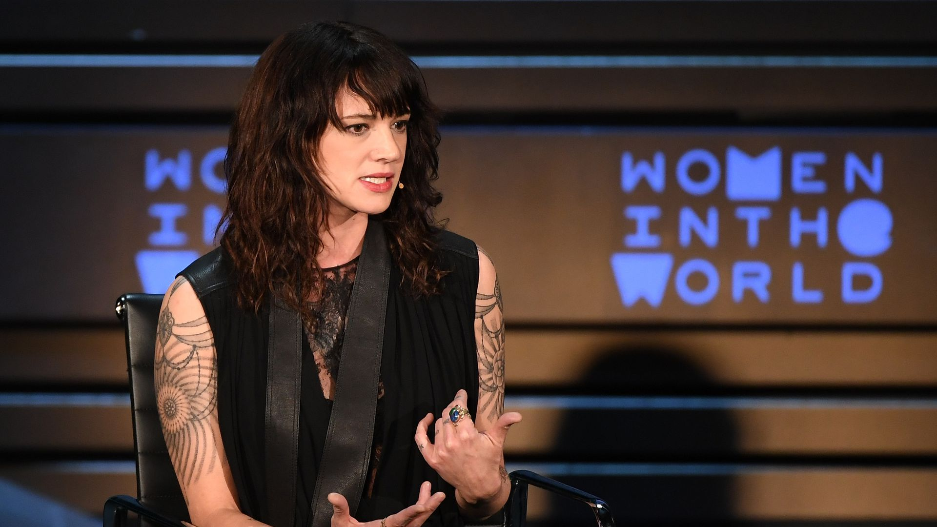 Actor and director Asia Argento. Photo: Angela Weiss/AFP/Getty Images