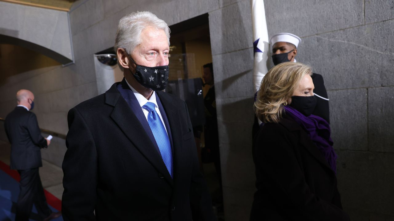 Bill Clinton hospitalized for non-COVID-related infection