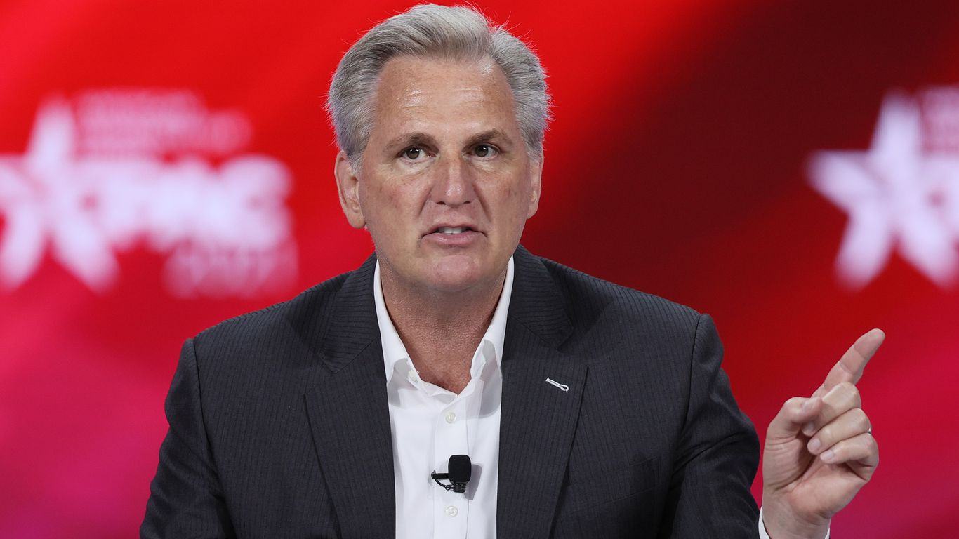 Exclusive: GOP Leader McCarthy asks to meet with Biden about the border