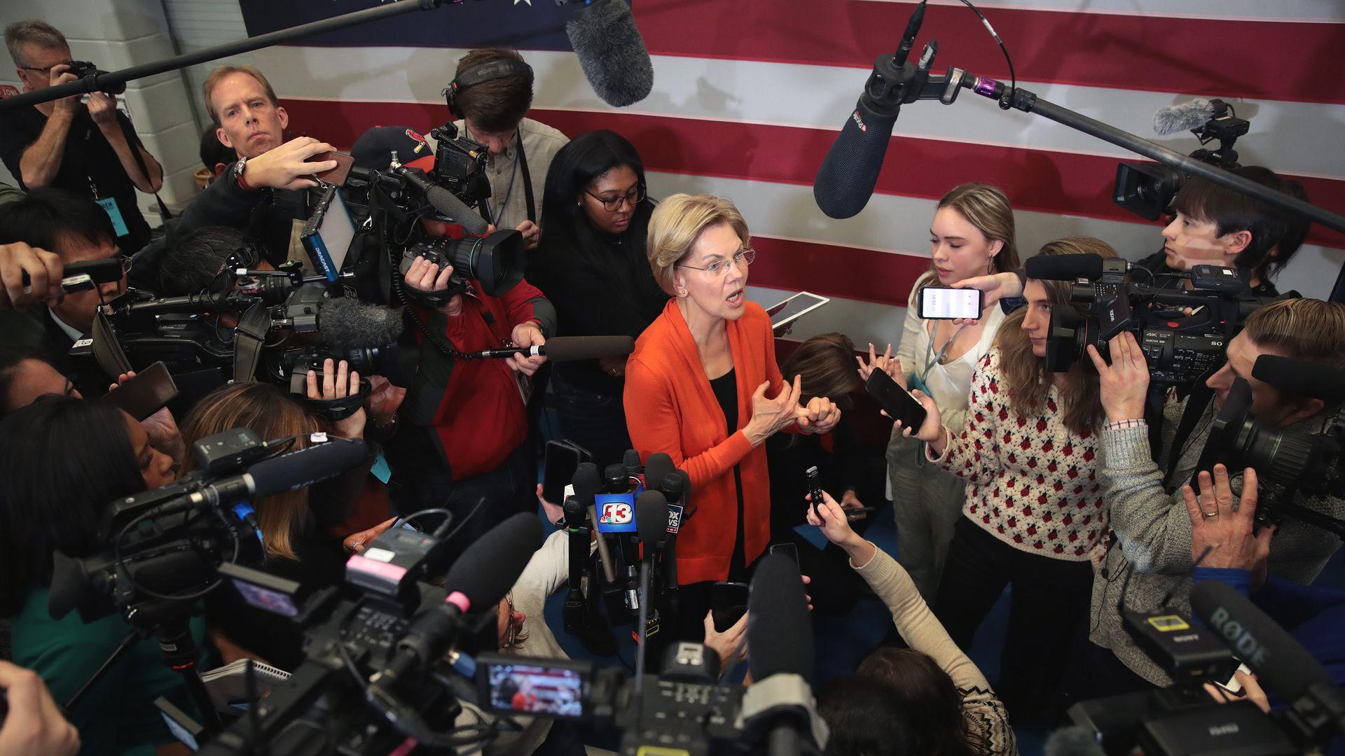 Elizabeth Warren in Iowa