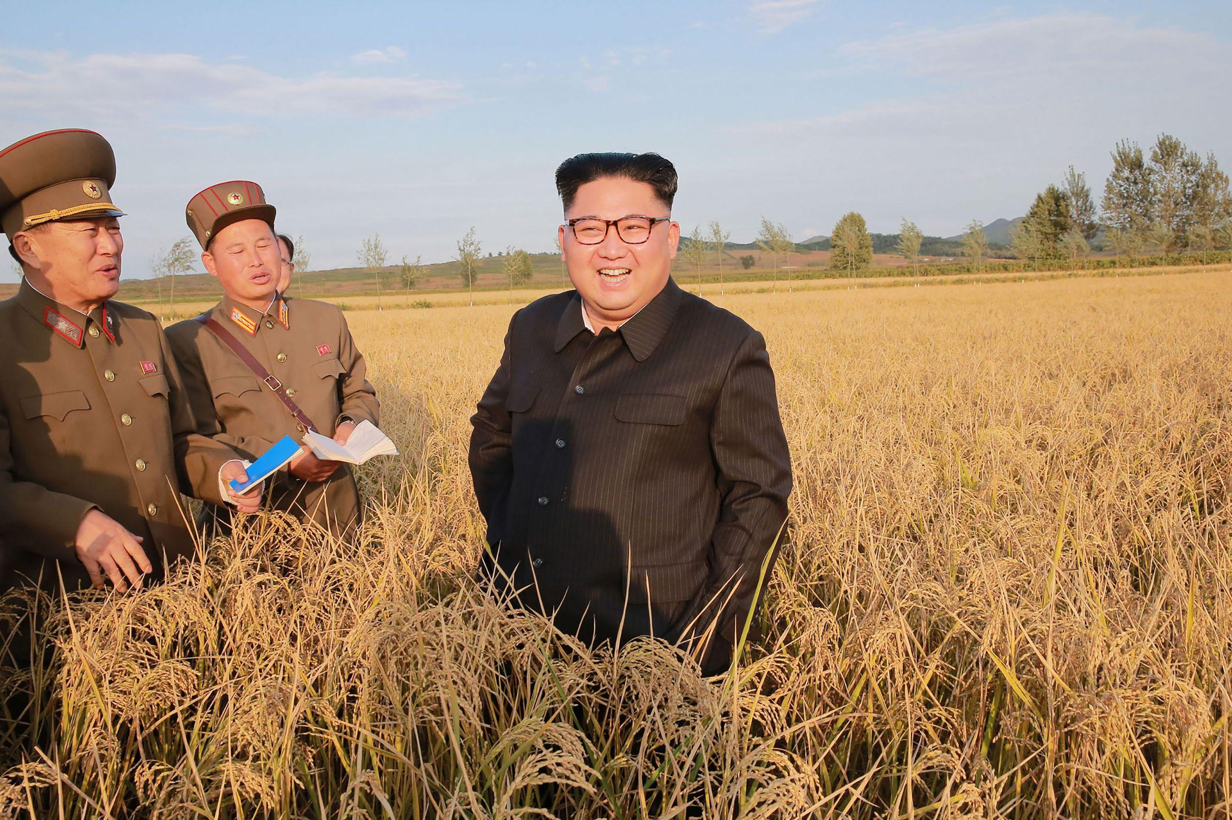 "Kim Jong-un calls for ""positive and offensive"" security measures - Axios"