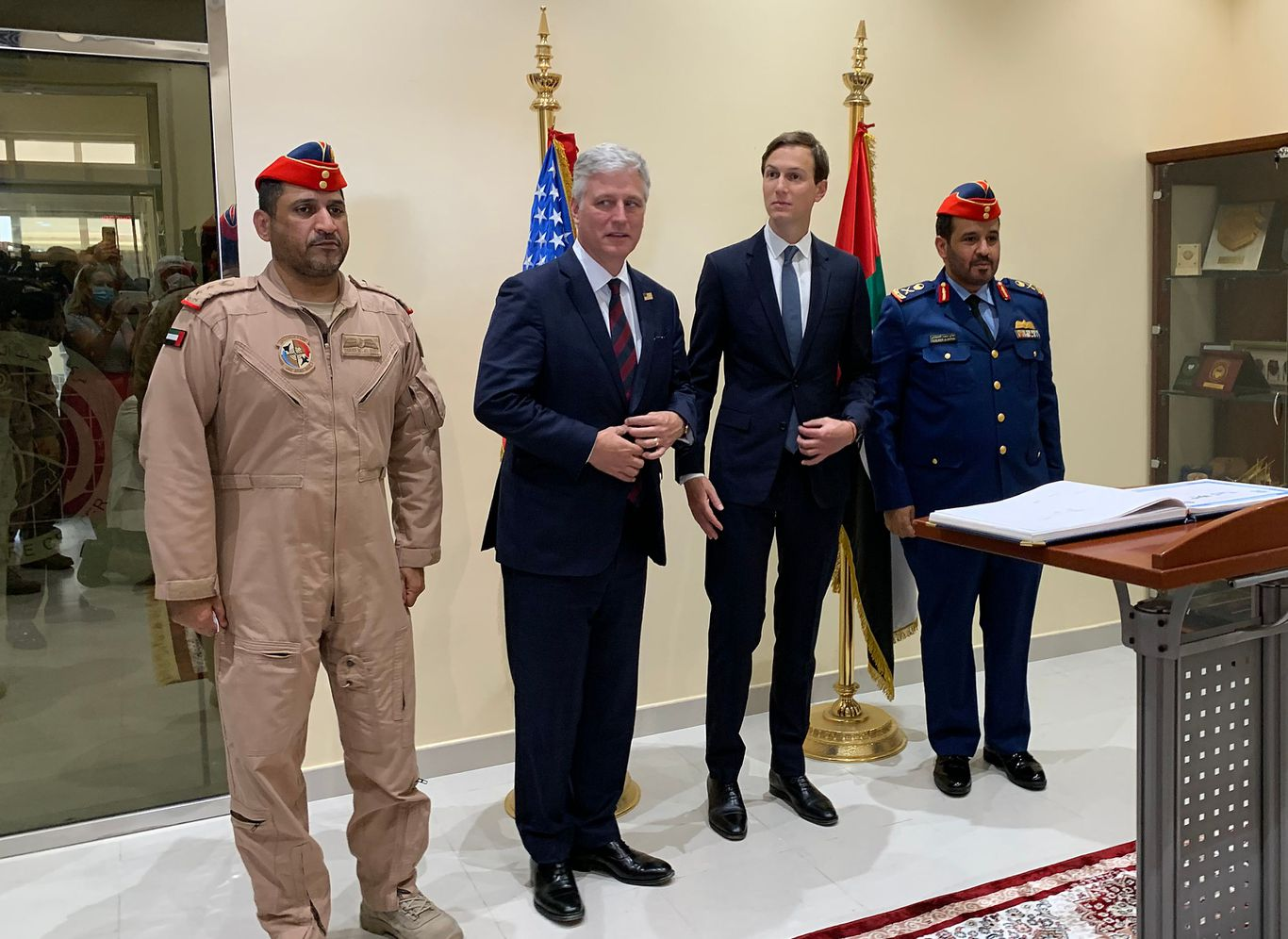 Israel-UAE talks progress toward possible White House ceremony thumbnail