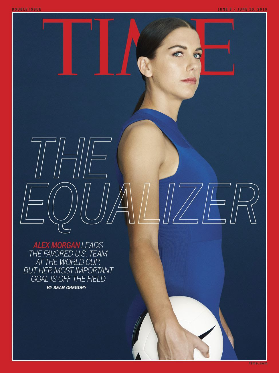 TIME cover featuring Alex Morgan