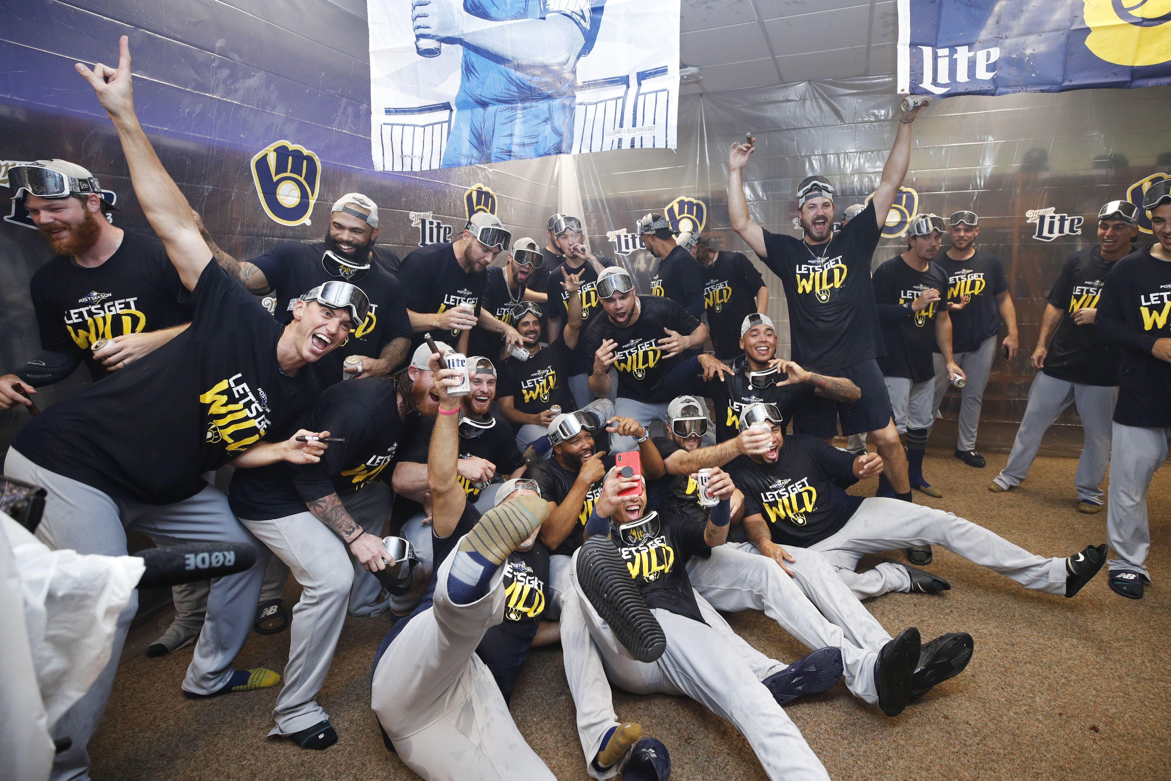 Brewers celebration