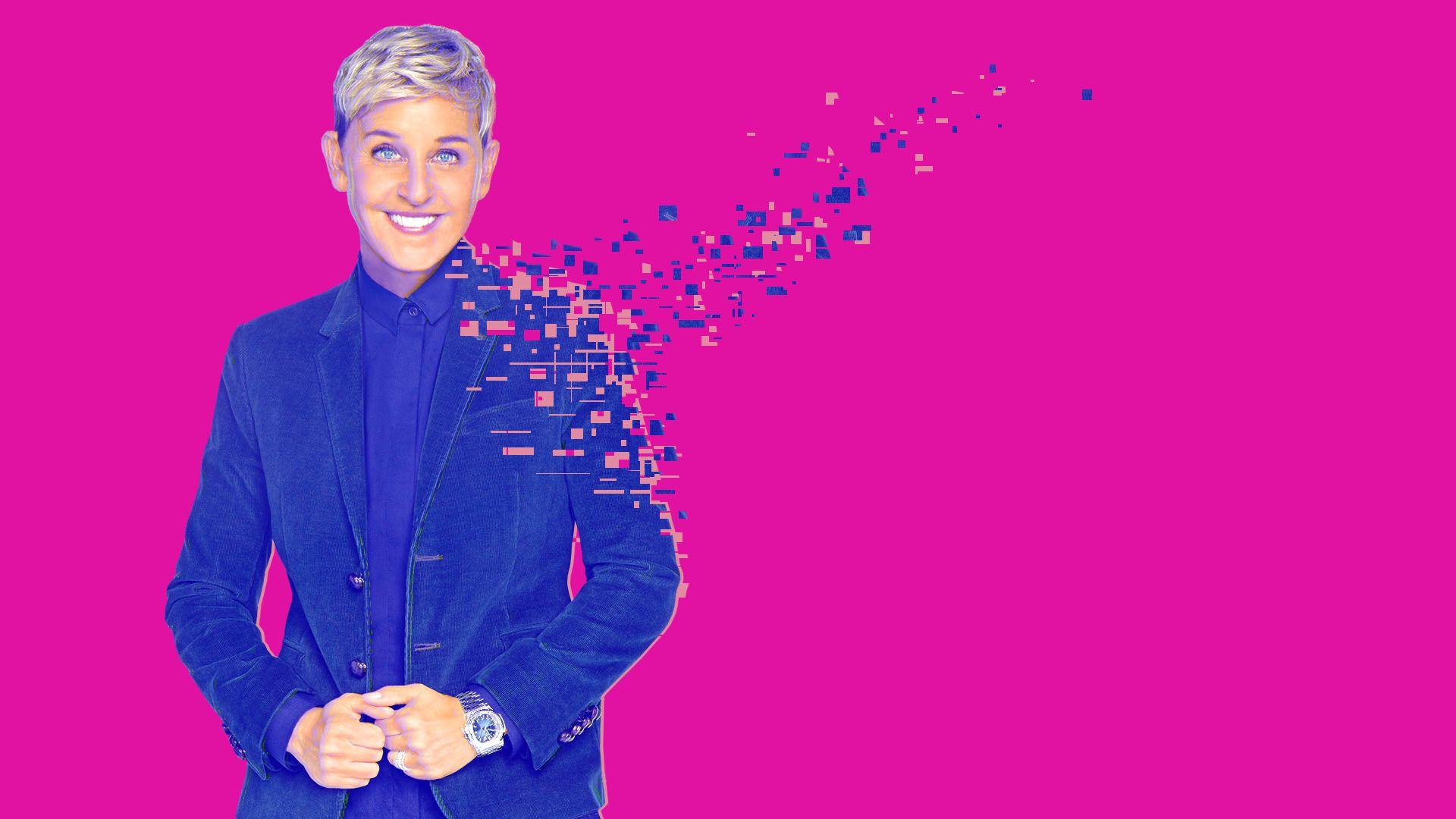 4c9c9901ec49 An AI-generated Ellen DeGeneres voice is the future of deepfakes - Axios