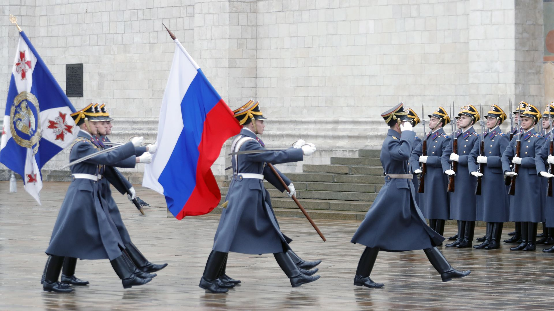 Kremlin mounting of the guard