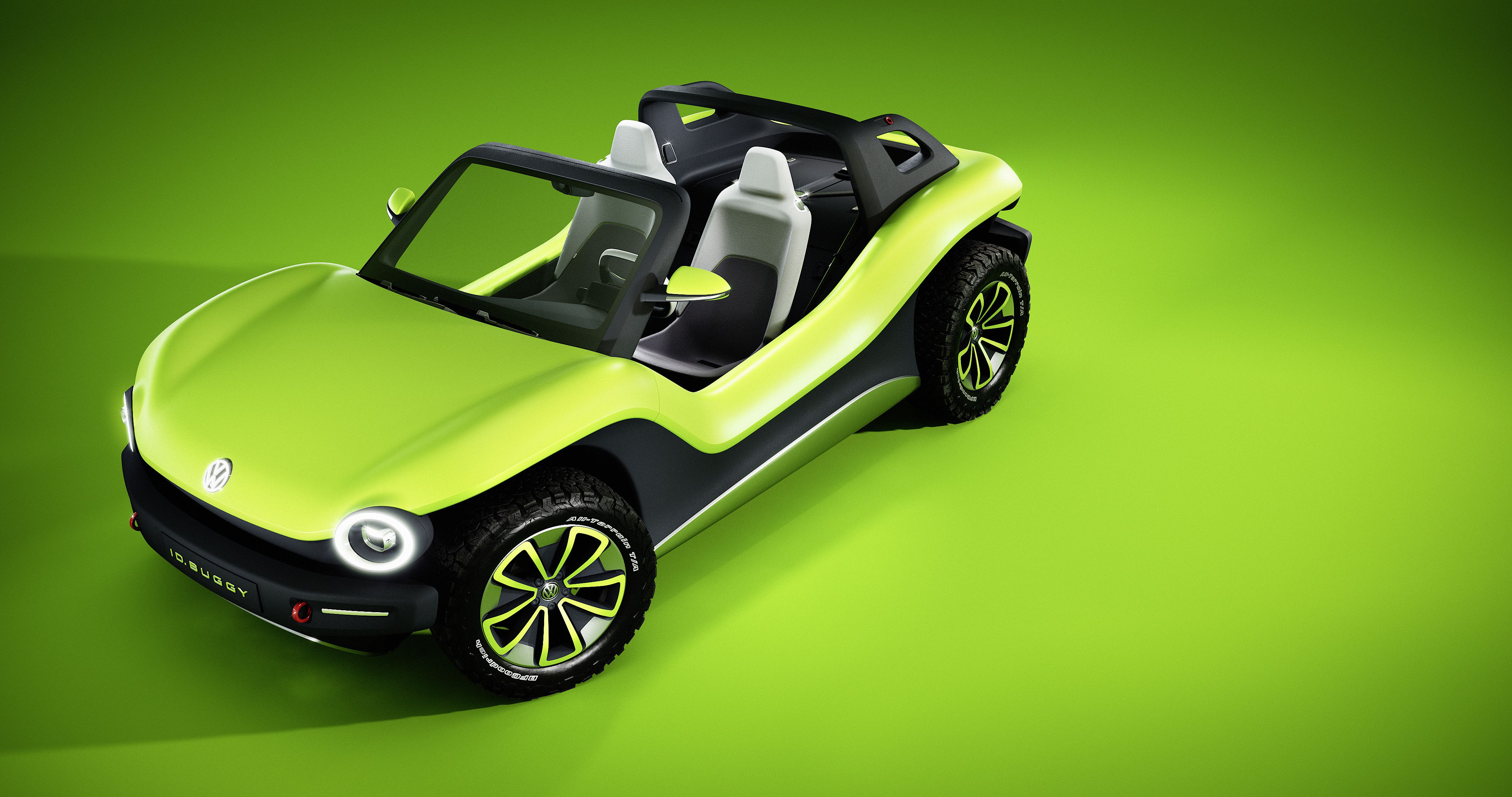 Image of the VW electric dune buggy concept