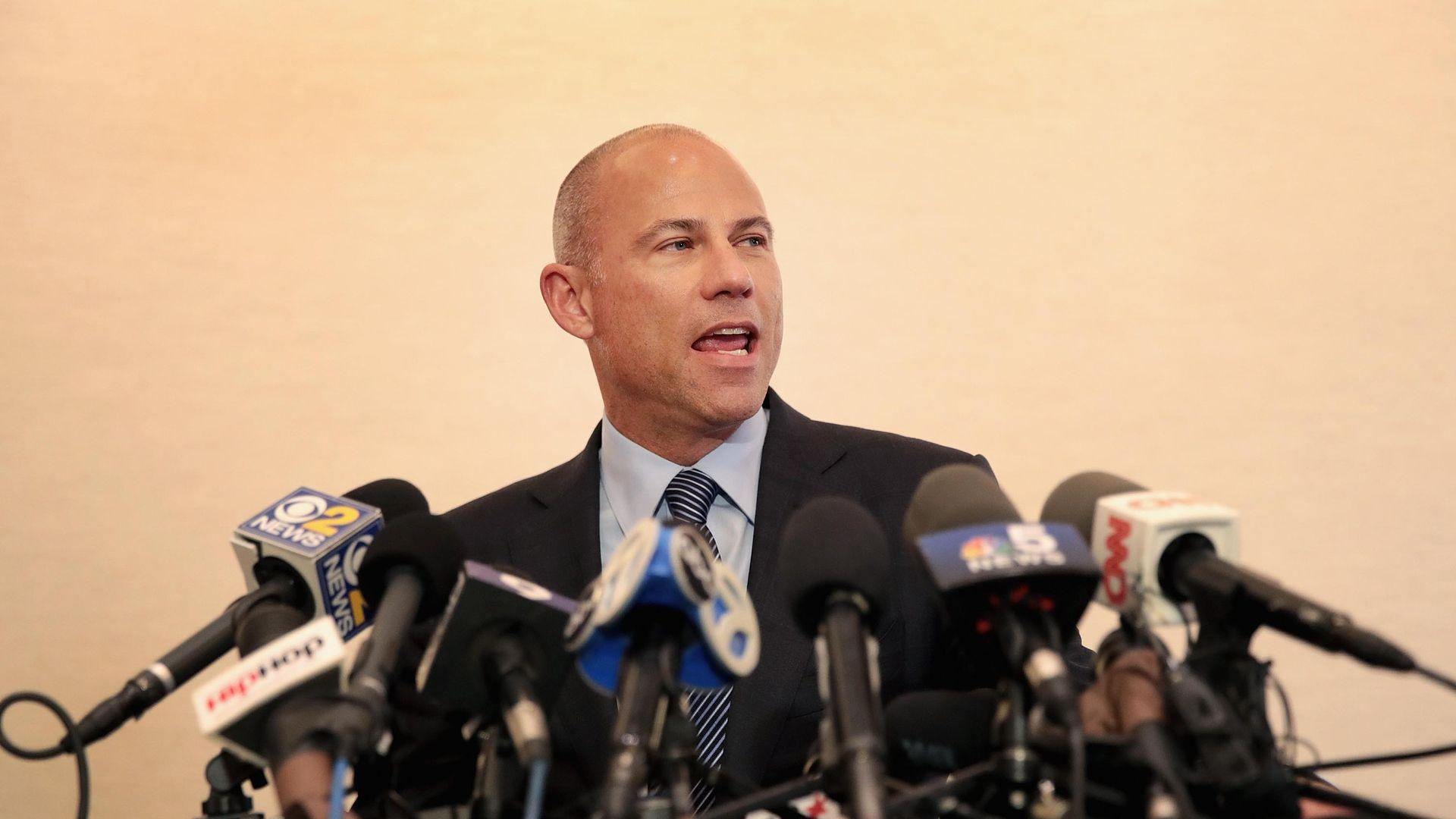 Celebrity lawyer Michael Avenatti represented Stormy Daniels
