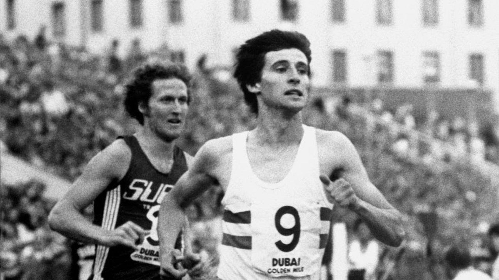 British runner Sebastian Coe