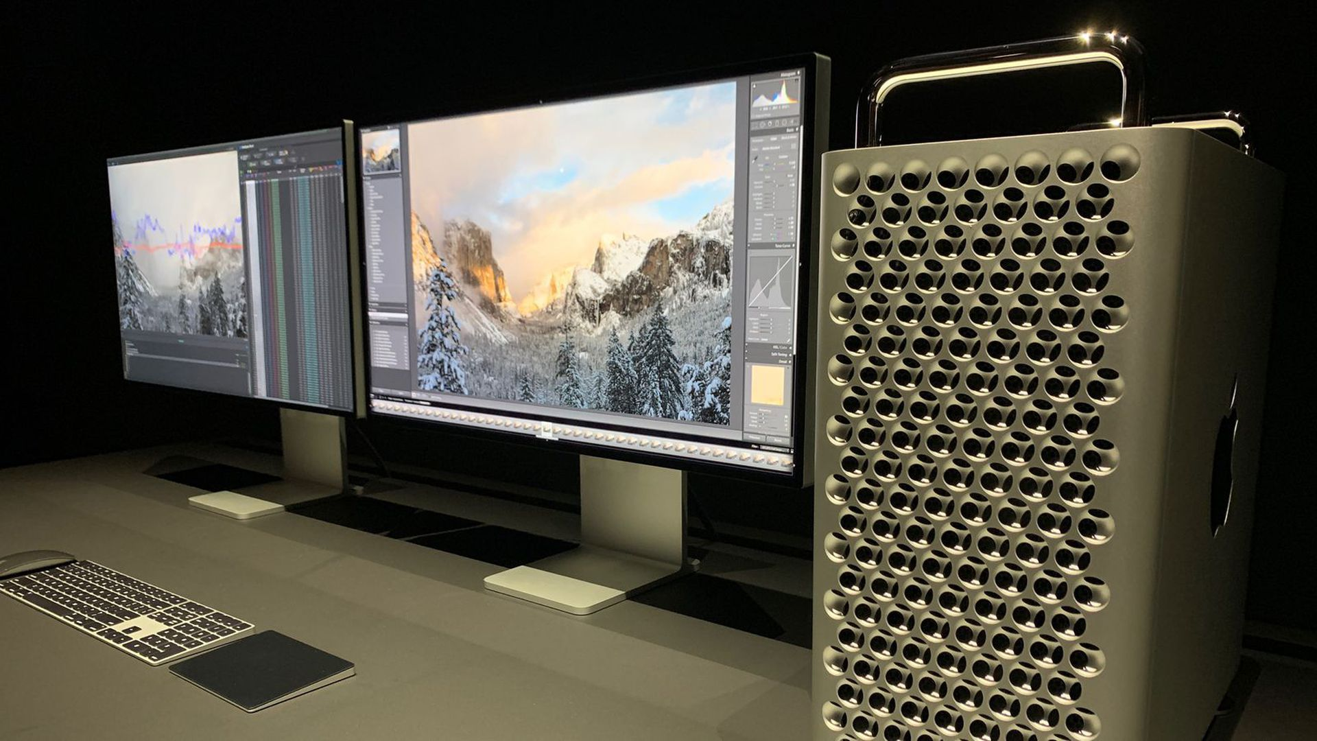 Apple's redesigned Mac Pro desktop computer