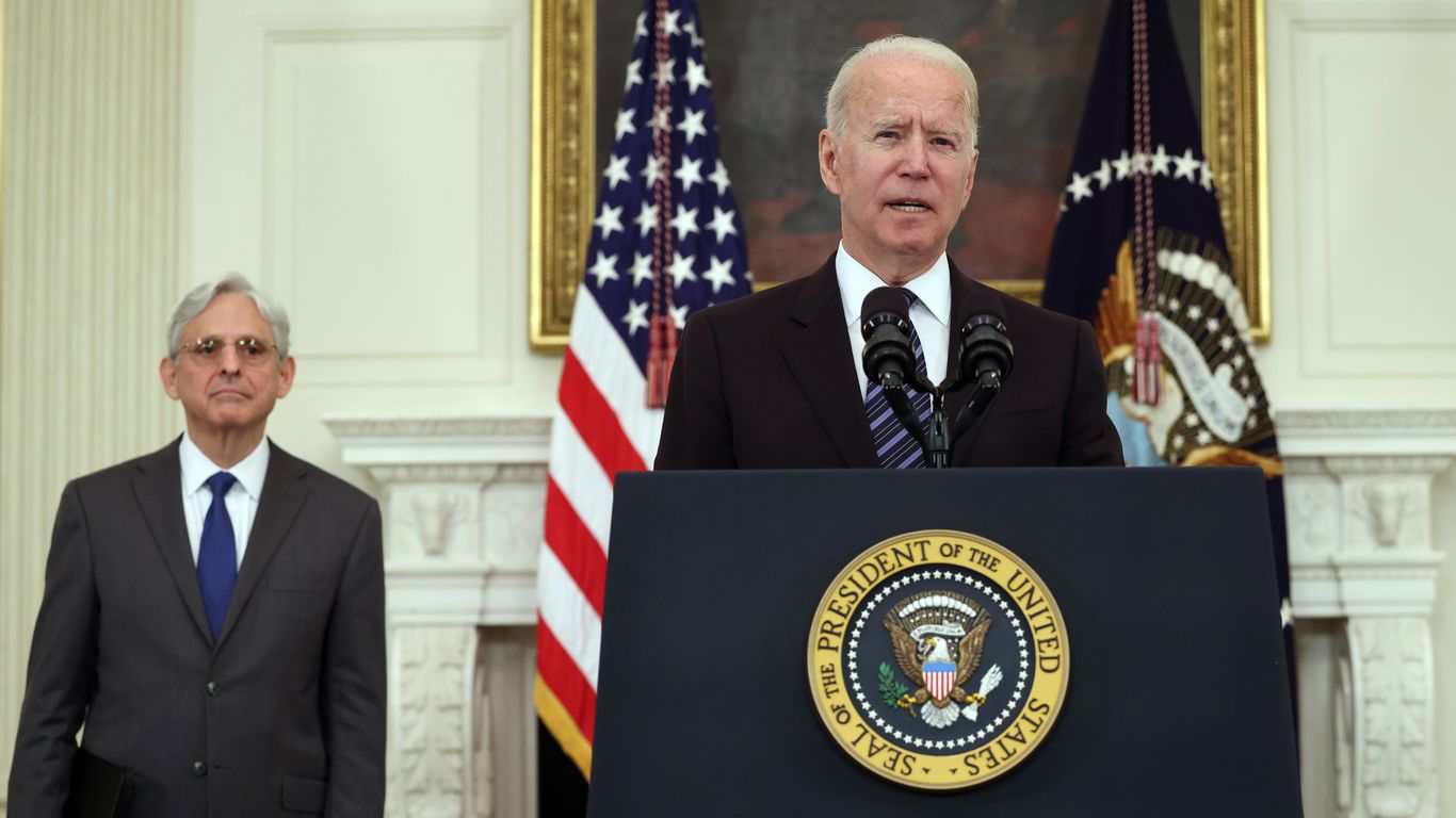 White House's tough-on-crime message: Use COVID funds