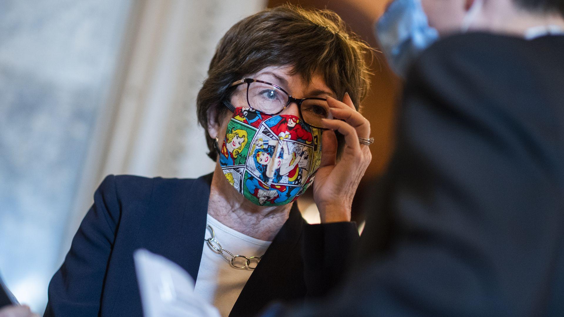 Susan Collins dice que el Senado debería posponer la votación de la Corte Suprema