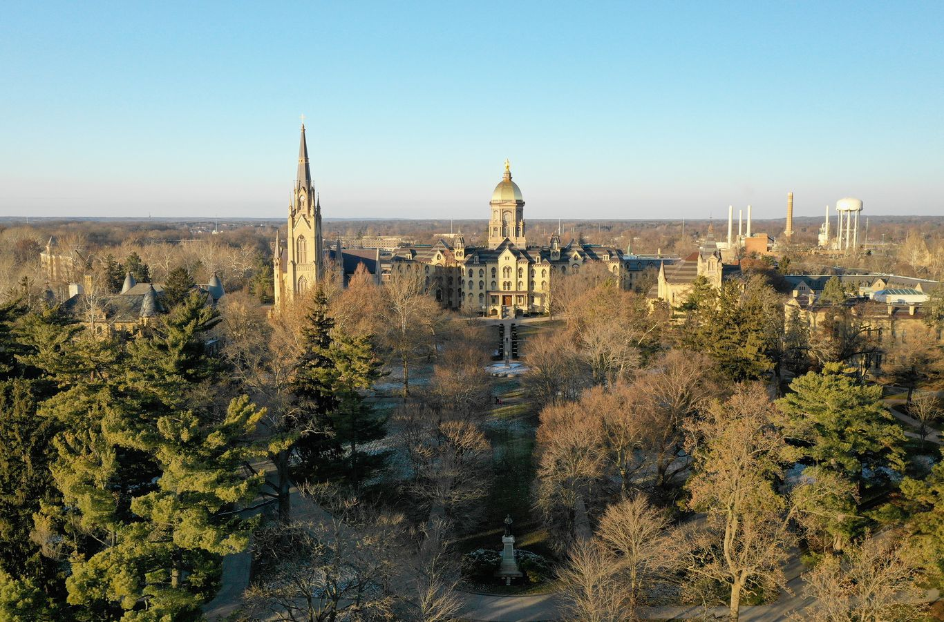 Notre Dame cancels in-person classes after surge of COVID-19 cases thumbnail