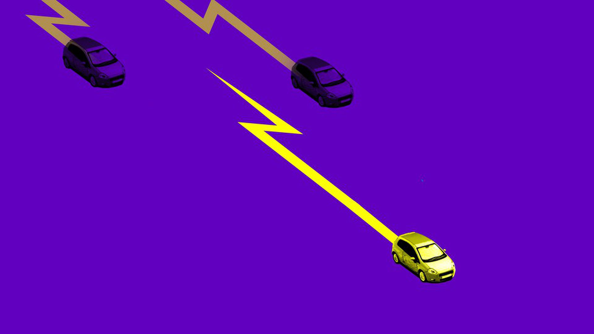Illustration for electric vehicle item