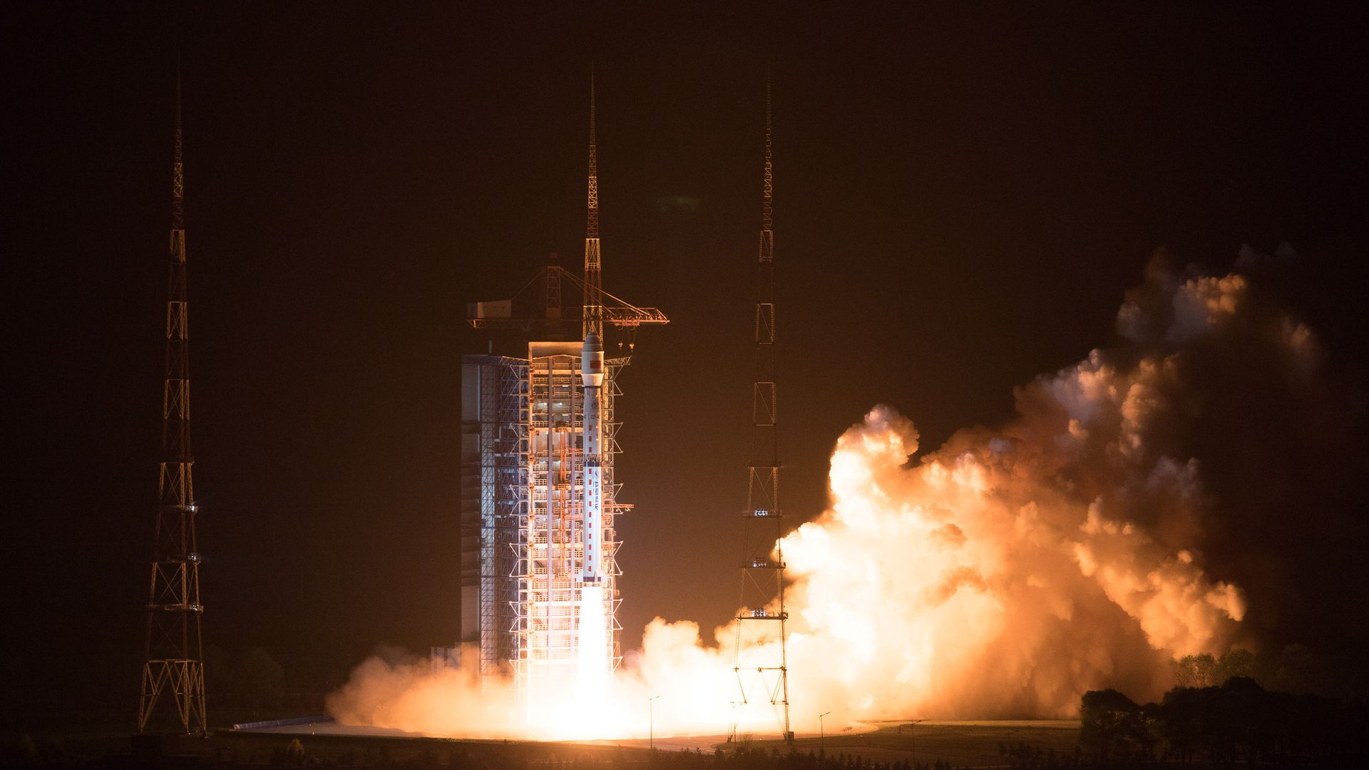 Chinese rocket carrying government satellite fails during launch