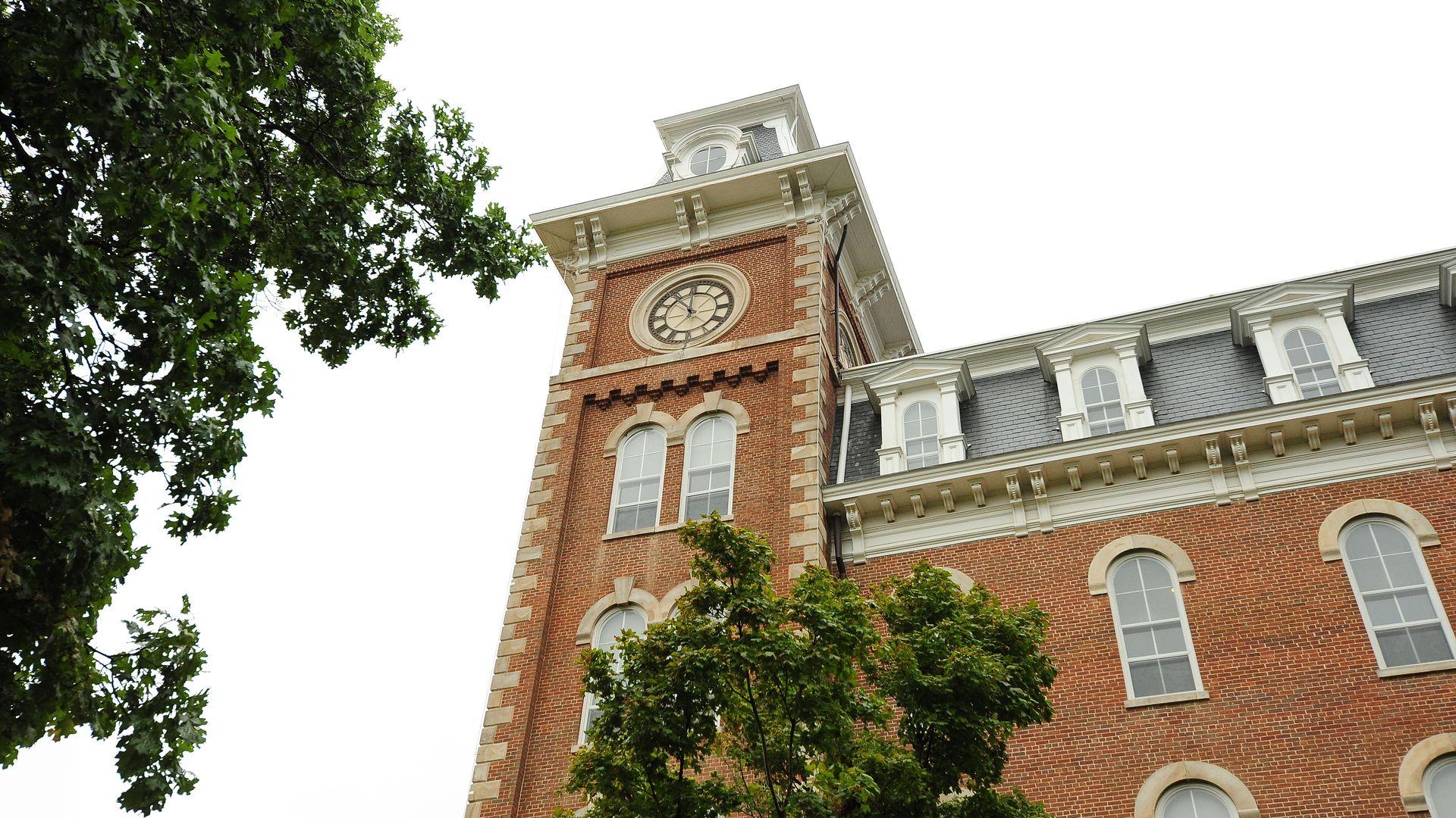 photo of Old Main at U of A campus