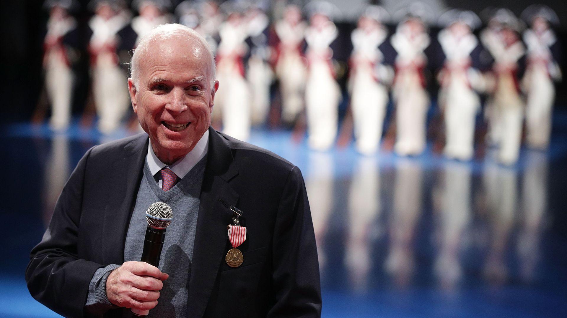 John McCain speaking
