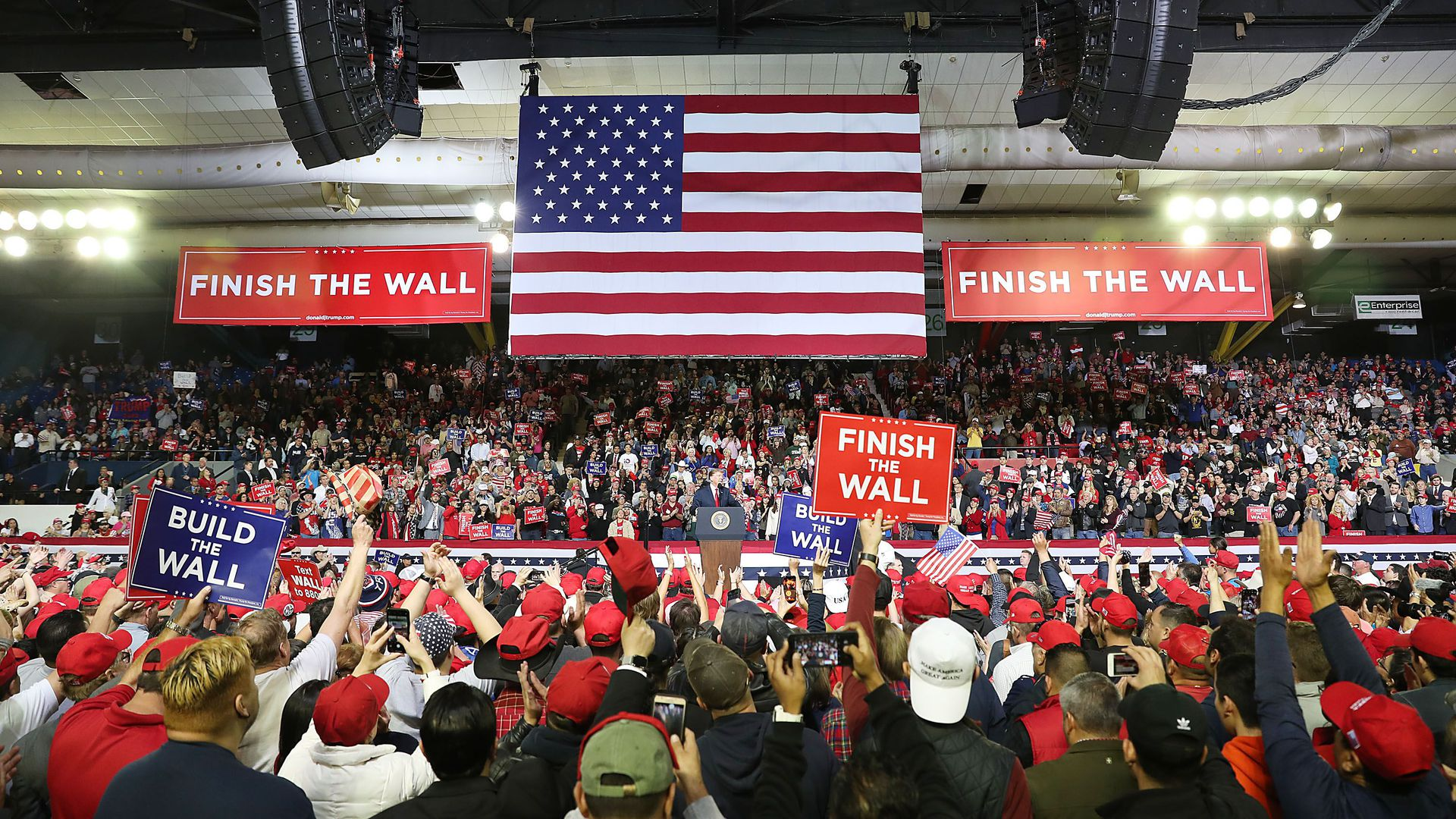 Trump's 2020 campaign manager claims 50% of signups for his El Paso rally were Democrats