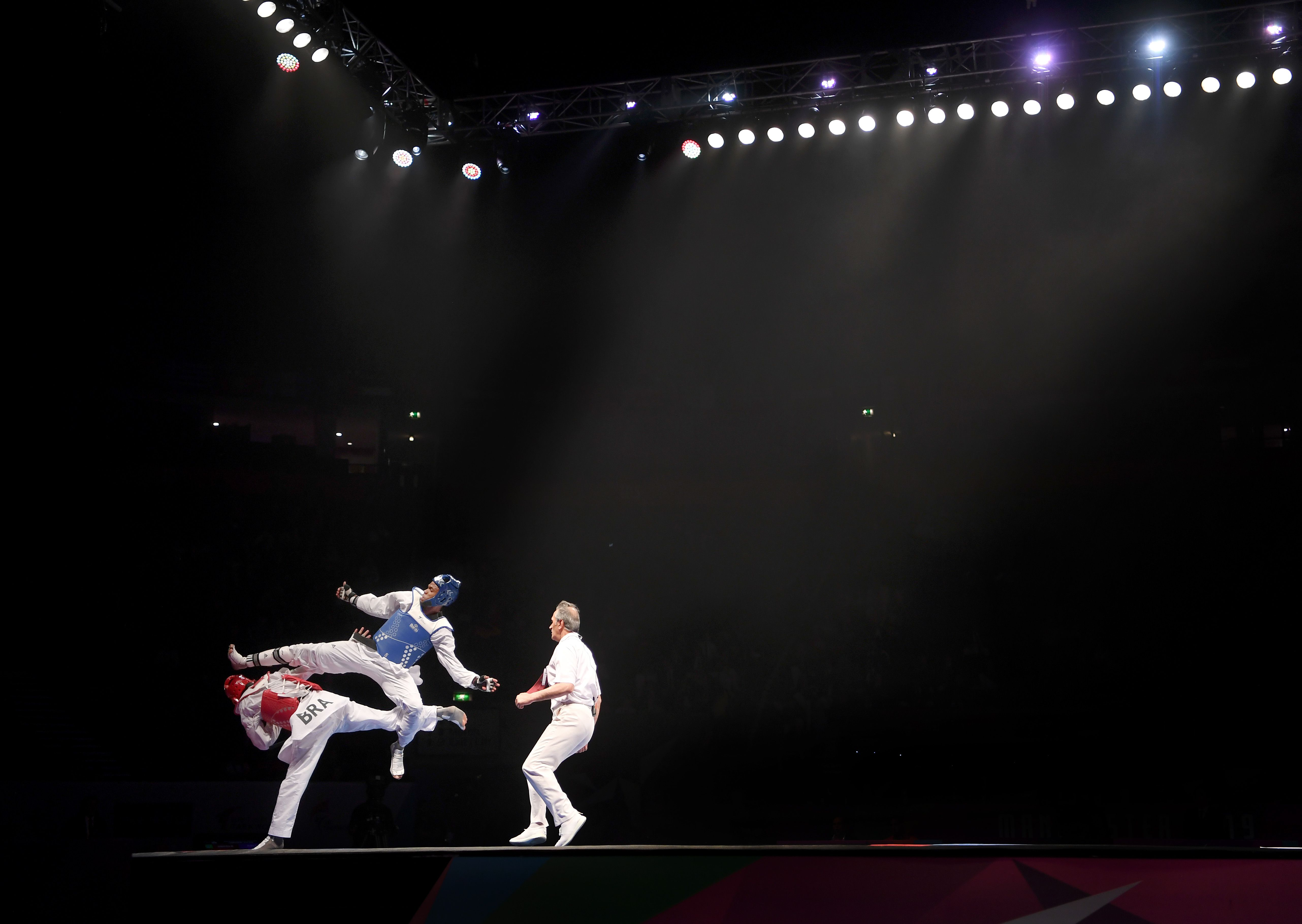 Competitors square off at the World Taekwondo Championships