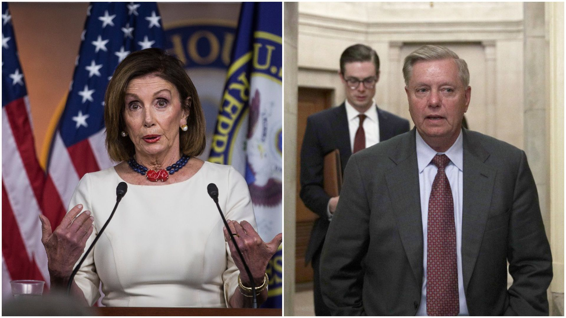 Nancy pelosi and lindsey graham