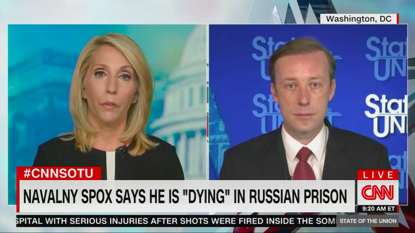 """Biden adviser warns """"there will be consequences"""" for Russia if Navalny dies thumbnail"""