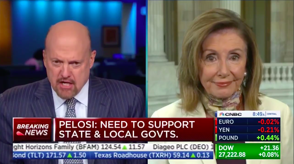 "Pelosi rips GOP over COVID talks: ""Perhaps you mistook them for somebody who gives a damn"" thumbnail"