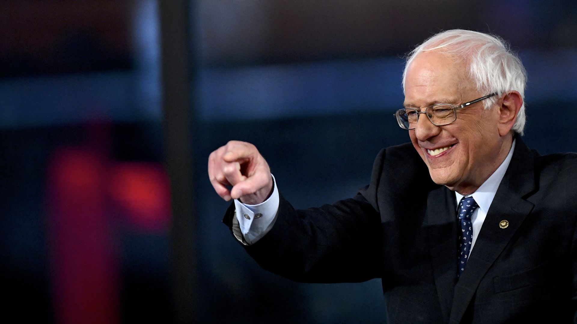 Bernie Sanders is the runaway leader in a new poll of progressives.