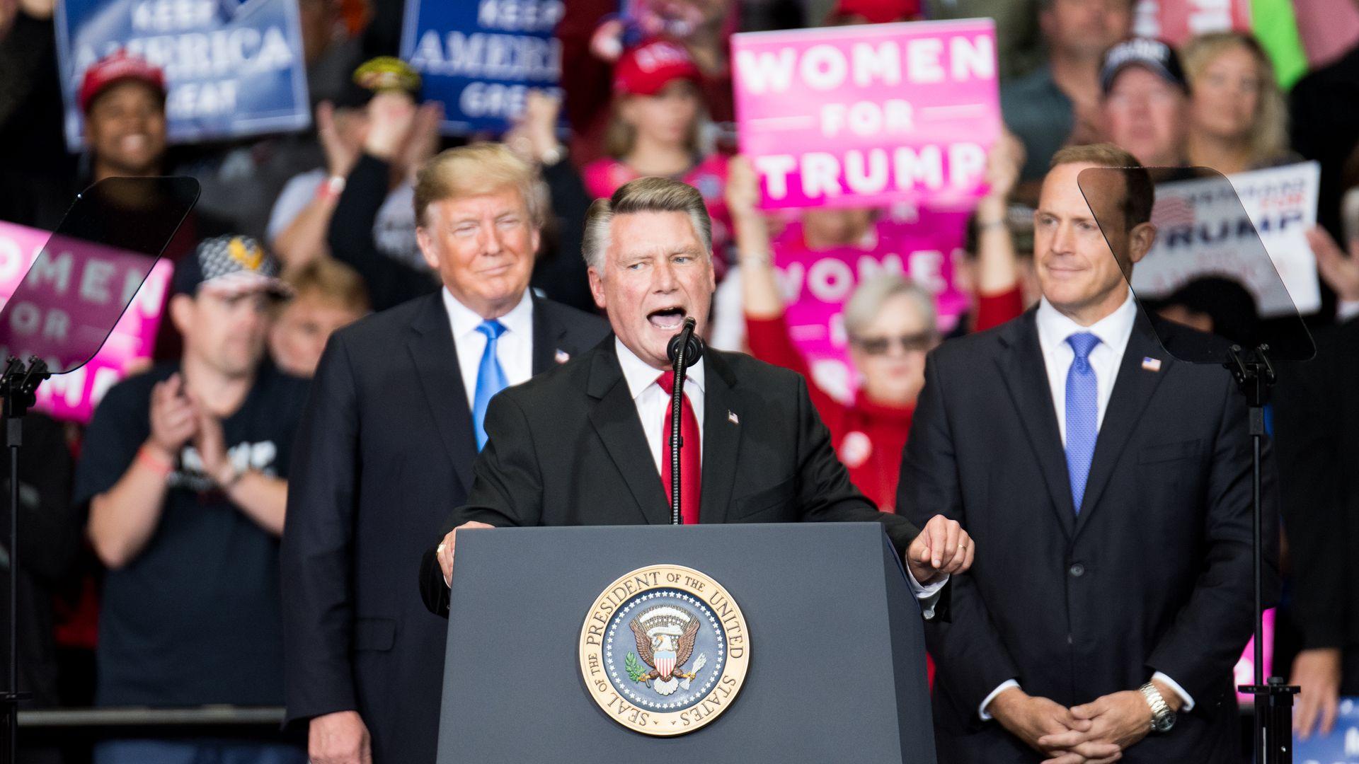 North Carolina GOP candidate Mark Harris denies knowledge of electoral fraud