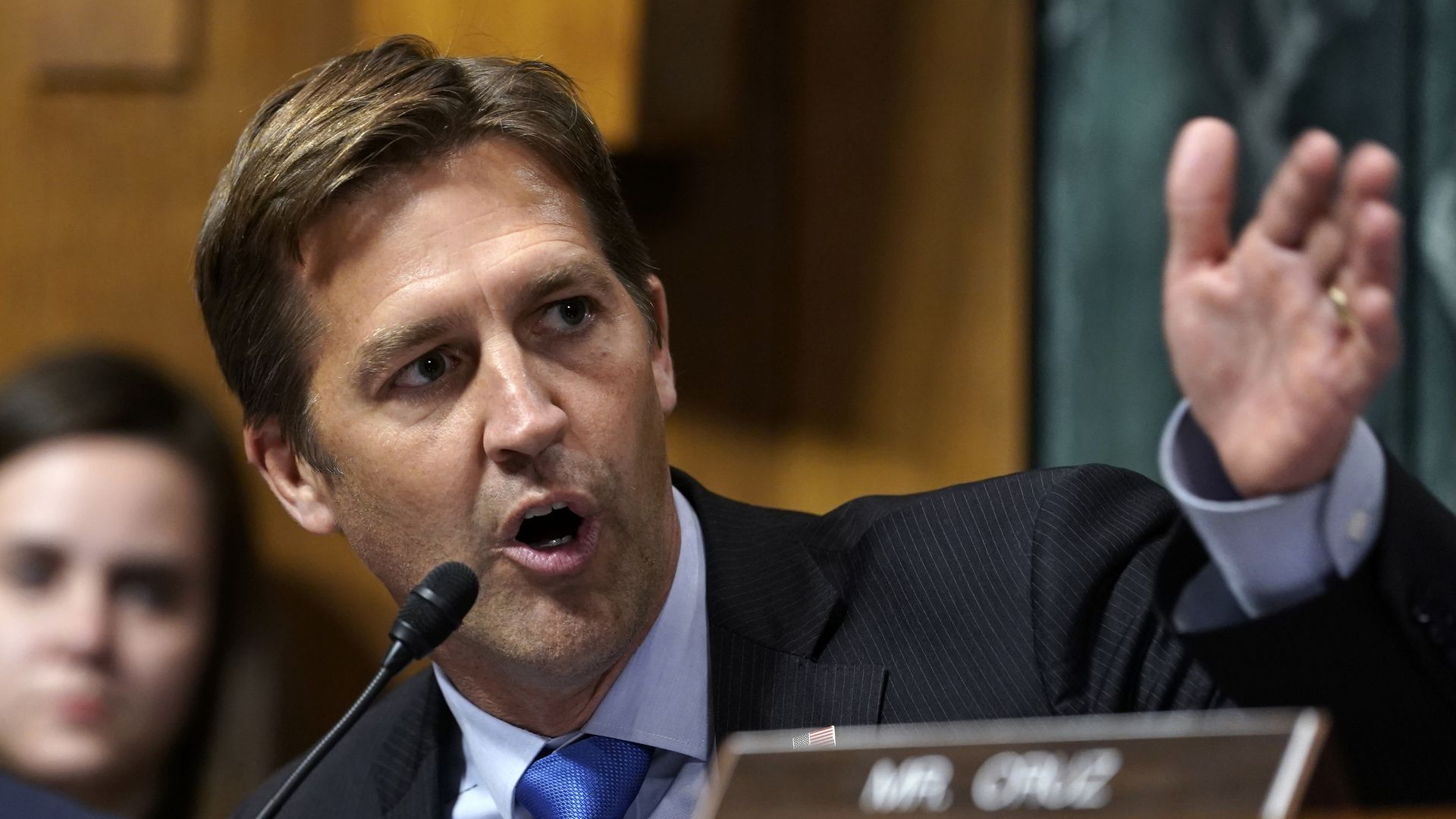 "Sasse warns of deepfake ""perfect storm"""