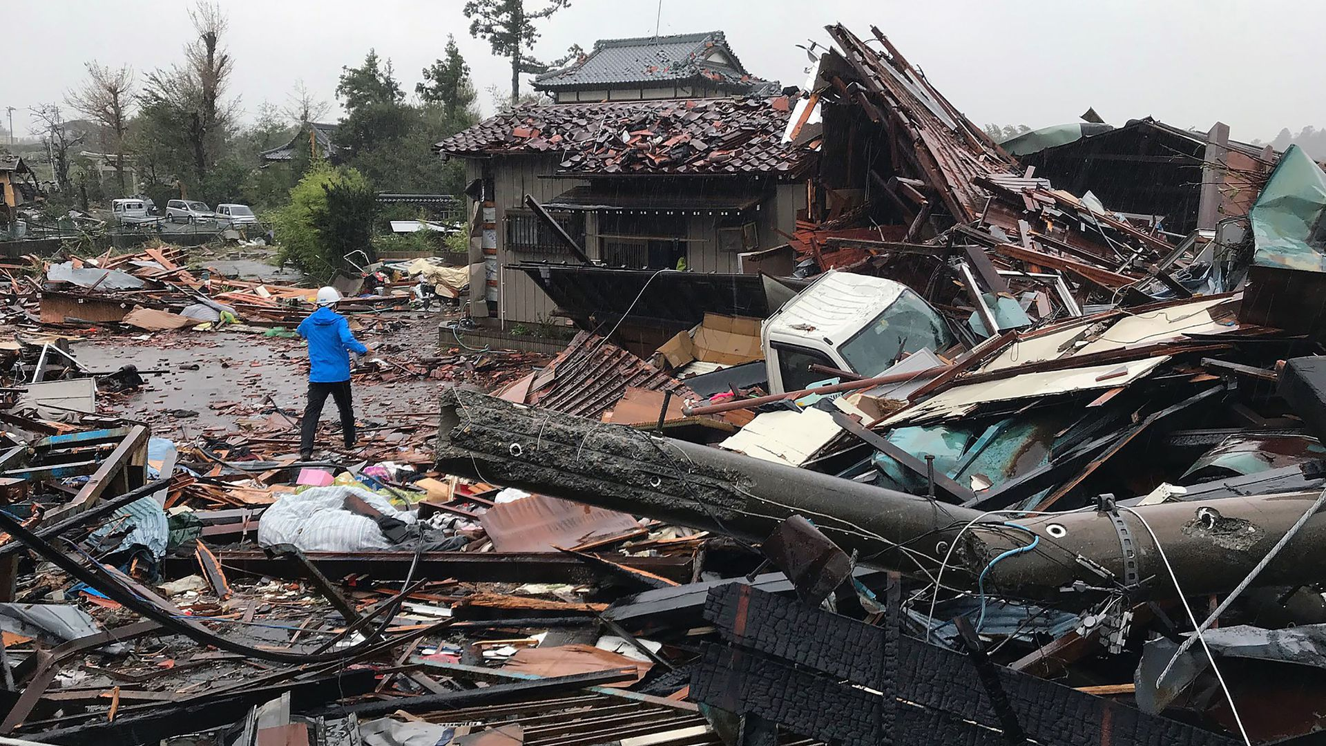 Japan's Typhoon Hagibis triggers deadly floods and landslides