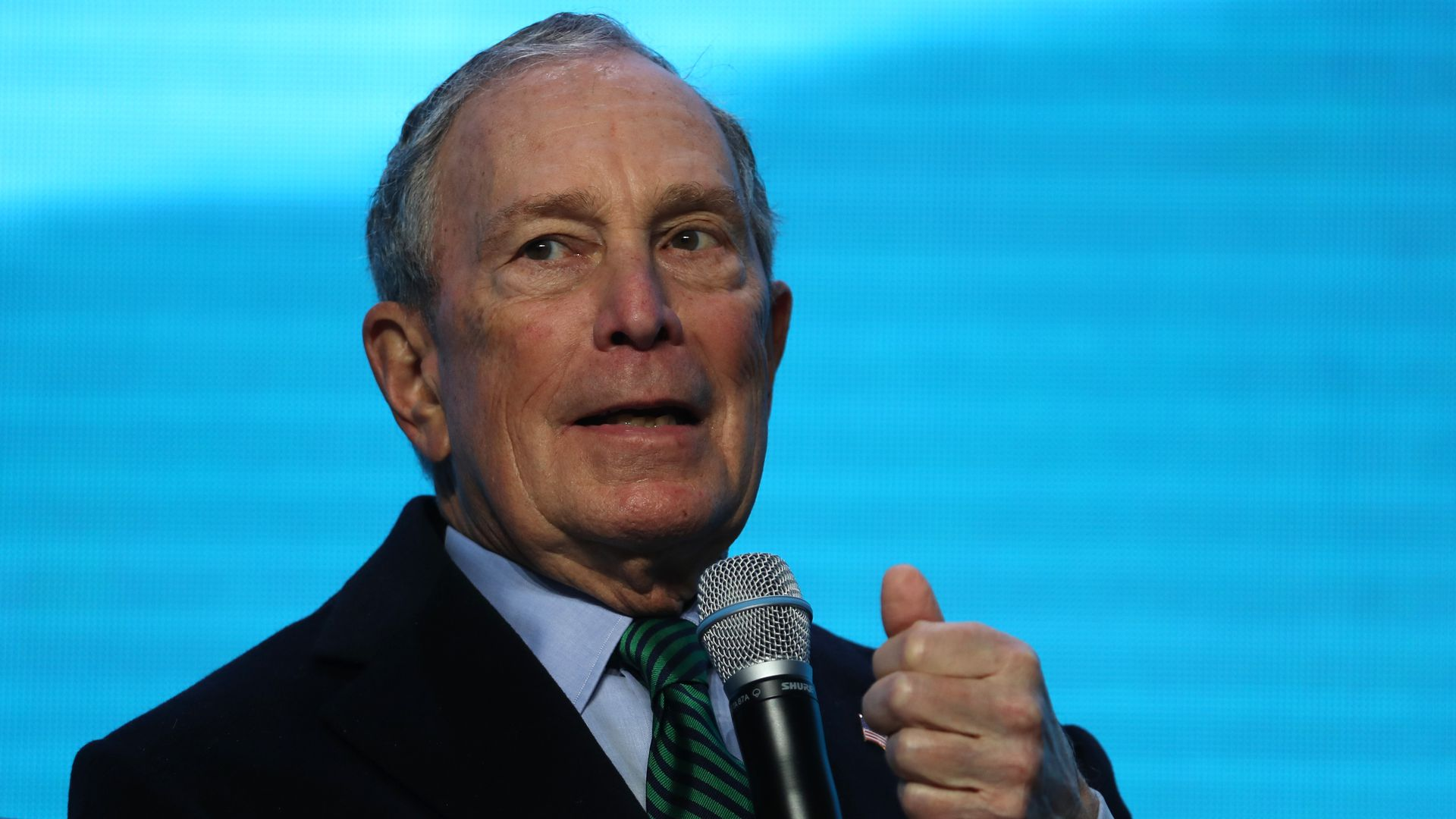 Mike Bloomberg wants to cut U.S. greenhouse gas emissions in half by 2030