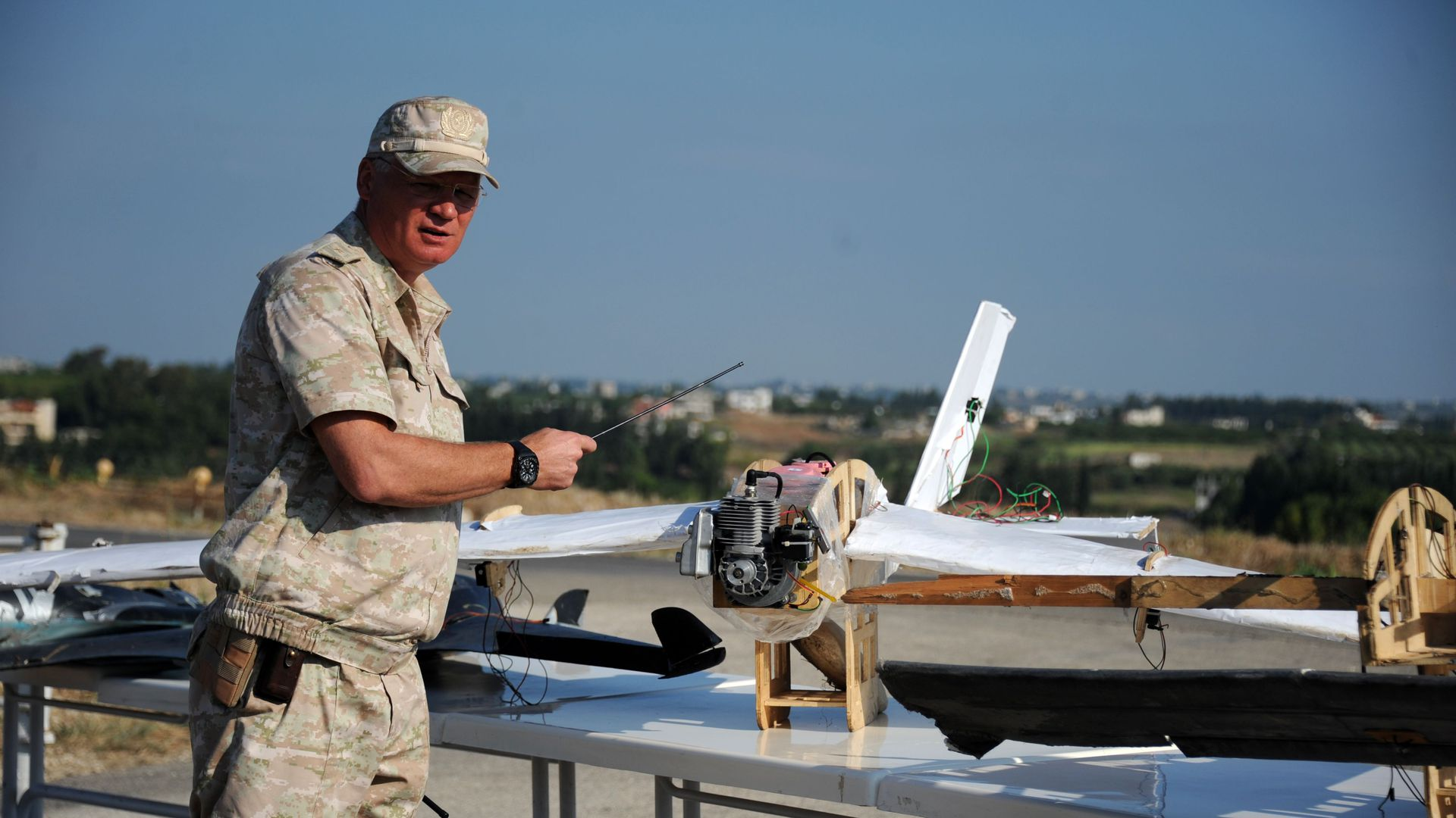 Drones are now being used by nearly half of the world's militaries